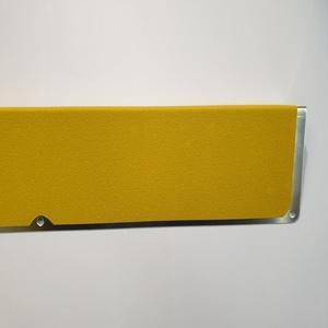 Алюминиевый профиль с противоскользящей лентой, пластина с углом, 120х45х1000 мм