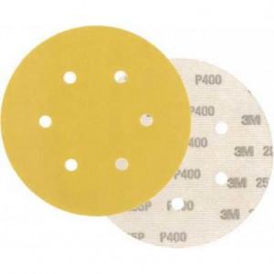 3M™ Hookit™ 255P 63338 Шлифовальный Круг, P360, 150 мм, 6 отв., LD600A
