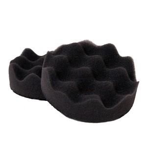 3M™ Finesse-it™ 60363 Полировальный Круг, рельефный, поролоновый, черный, 80 мм