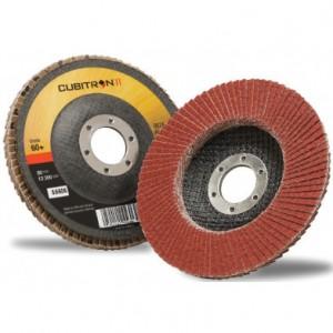 3M™ Cubitron™ II 967A 65054 Круг Шлифовальный Лепестковый Торцевой Конический, 40+, 125 мм