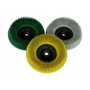 3M™ Scotch-Brite™ Bristle BD-ZB 07580 Круг, торцевой, P50, зеленый, 115 мм, М14