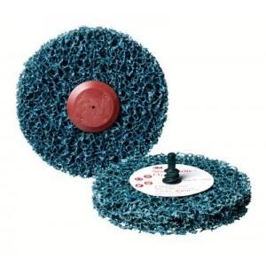 3M™ Scotch-Brite™ Roloc™ + Clean and Strip CG-ZR 57018 Круг, S XCS, голубой, 100 мм х 13 мм