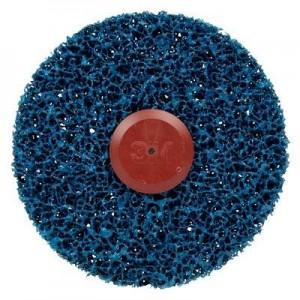 3M™ Scotch-Brite™ Clean and Strip CG-ZS 57017 Круг, S XCS, голубой, 150 мм х 13 мм х 8 мм