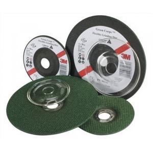 3М 60638 гибкий шлифовальный круг по металлу Green Corps (180х22х3.7 мм)