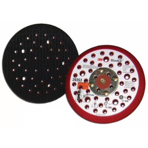 3M™ Hookit™ 20353 Оправка, 125 мм х 9.5 мм, универсальный пылеотвод, 5/16