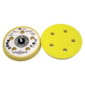 3M™ Hookit™ 77856 Оправка, 125 мм х 17.5 мм, мягкая, 5 отверстий, LD500A, 5/16