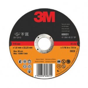 3М 68011 отрезной круг Inox (125х22х1 мм)