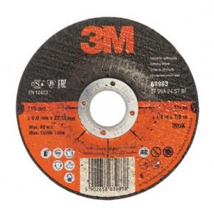 3М 63985 зачистной круг Inox (180х22х6.88 мм)
