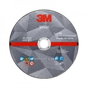 3M™ Silver 51802 Отрезной Круг, T41, 180 мм х 2,5 мм х 22,23 мм