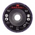 3M™ Scotch-Brite™ Clean and Strip XT-RD 05818 Круг, S XCS, фиолетовый, 115 мм х 22 мм