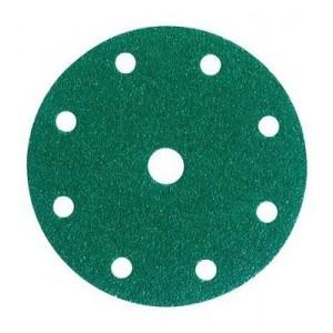3M™ Hookit™ 245 00315 Круг абразивный, зеленый, 9 отверстий, Р80, 150 мм