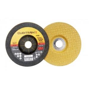 3M™ Cubitron™ II 51742 Гибкий Зачистной Круг, T27, 115 мм x 3 мм x 22 мм, 80+