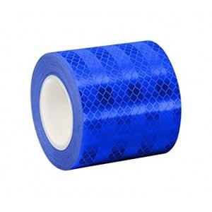 3М™ 3435 Пленка Световозвращающая для дорожных знаков, синяя, размер рулона 1,22 х 45,7 м