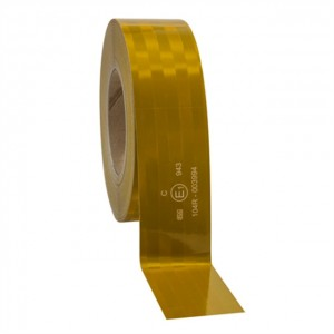 3M™ Diamond Grade™ 943-71 Пленка Световозвращающая для контурной маркировки ТС, желтая, 50,8 мм х 50 м