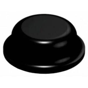 3M™ Bumpon™ SJ5076 Амортизатор цилиндр, черный, 2,8 мм х 8 мм, 56 шт./лист