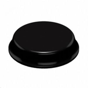 3M™ Bumpon™ SJ5744 Амортизатор полусфера, черный, 4,0 мм х 19,0 мм, 40 шт./лист