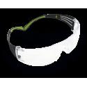 3M™ SecureFit™ SF401AF-EU Очки Открытые защитные, цвет линз прозрачный, с покрытием против царапин и запотевания