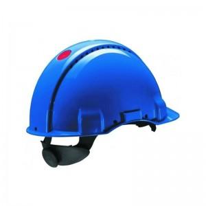 3M™ G3000NUV-BB Каска защитная синяя, с вентиляцией, с храповиком, с УФ-индикатором