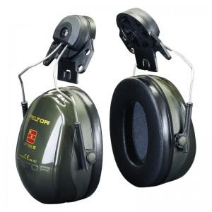 3М™ PELTOR™ Optime™ II H520P3E-410-GQ Наушники противошумные с креплением на каску, зеленые, 30 дБ