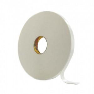 3M™ 9546 Двусторонняя Лента из Вспененного Полиэтилена, белая, под нарезку, рулон 1250 мм х 66 м