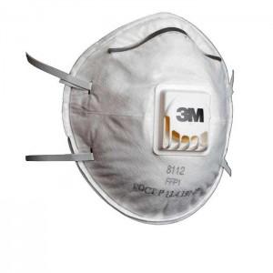 3M™ 8112 Респиратор противоаэрозольный класс защиты FFP1 NR D, чашеобразный, с клапаном выдоха