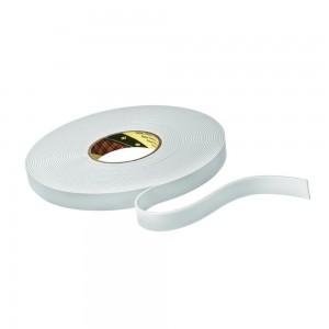 3M™ 9515W Двусторонняя Лента из Вспененного Полиэтилена, белая, под нарезку, рулон 1500 мм х 33 м