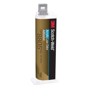 3M™ Scotch-Weld™ DP8805NS Клей Акриловый Двухкомпонентный, без резкого запаха, зелёный, 45 мл