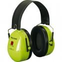 3М™ PELTOR™ Optime™ II H520P3E-467-GB Наушники противошумные повышенной видимости Hi-Viz, с креплением на каску, 30 дБ