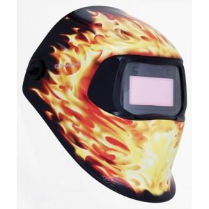 Speedglas® 100 Сварочная маска 3М Speedglas 100V с АЗФ с перем. степенью затем. 3 / 8-12. Цвет Пламя. арт.751220