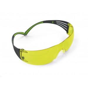 3M™ SecureFit™ SF403AF-EU Очки Открытые защитные, цвет линз желтый, с покрытием AS/AF против царапин и запотевания