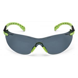 3M™ Solus™ S1202SGAF-EU Очки Открытые защитные с усиленным покрытием Scotchgard™ против запотевания и царапин,цвет линз серый