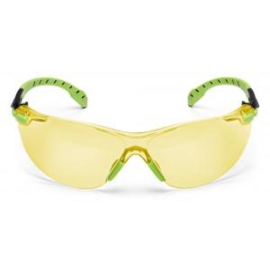 3M™ Solus™ S1203SGAF-EU Очки Открытые защитные с покрытием Scotchgard™ против запотевания и царапин, цвет линз желтый