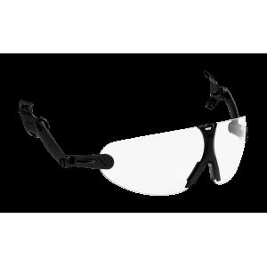 3M™ V9C Очки защитные открытые с узлом крепления на каску защитную, цвет линз прозрачный