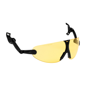 3M™ V9A Очки защитные открытые с узлом крепления на каску защитную, цвет линз желтый