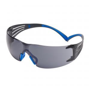3M™ SecureFit™ SF400 SF402SGAF-BLU-EU Очки Открытые защитные из поликарбоната, с усиленным покрытием Scotchgard™, цвет линз серый