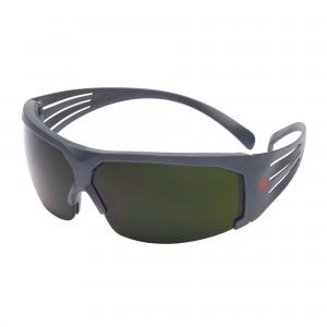 3M™ SecureFit™ SF600 SF650AS-EU Очки Открытые защитные, цвет линз тёмно- зелёный с затемнением 5.0 IR, с покрытием AS против царапин