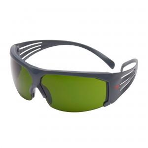 3M™ SecureFit™ SF600 SF630AS-EU Очки Открытые защитные, цвет линз тёмно- зелёный с затемнением 3.0 IR, с покрытием AS против царапин