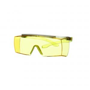 3M™ SecureFit™ 3700 SF3703SGAF-GRN-EU Очки открытые защитные поверх корригирующих с покрытием Scotchgard™, цвет линз желтый