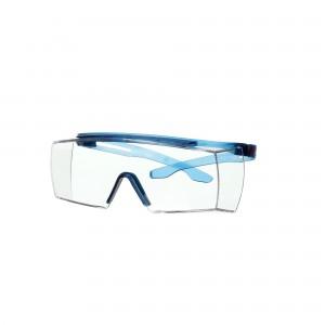 3M™ SecureFit™ 3700 SF3701SGAF-BLU-EU Очки открытые защитные поверх корригирующих с покрытием Scotchgard™, цвет линз прозрачный