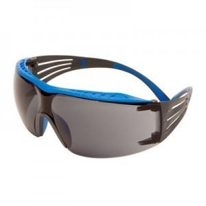 3M™ SecureFit™ SF400X SF402XSGAF-BLU-EU Очки открытые защитные, цвет линз серый, с покрытием Scotchgard™ Anti-Fog (K&N)
