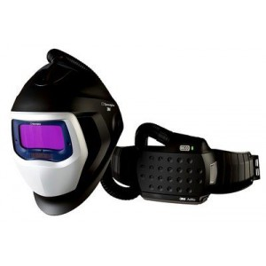 3M™ Speedglas™ 567715 Щиток защитный лицевой сварщика SG 9100 AIR со светофильтром 9100X и блоком ADFLO