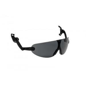 3M™ V9G Очки защитные открытые с узлом крепления на каску защитную, цвет линз серый