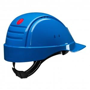 3M™ G2000CUV-BB Каска защитная синяя, с вентиляцией, с УФ-индикатором