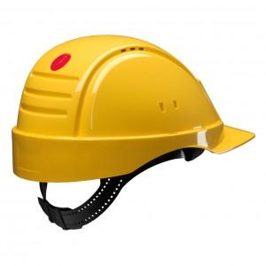 3M™ G2000CUV-GU Каска защитная желтая, с вентиляцией с УФ-индикатором