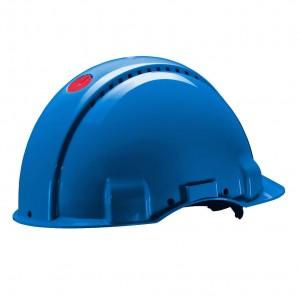 3M™ G3000CUV-BB Каска защитная синяя, с вентиляцией, c УФ-индикатором