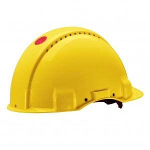 3M™ G3000CUV-GU Каска защитная желтая, c вентиляцией, c УФ-индикатором