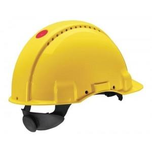3M™ G3000NUV-GU Каска защитная желтая, с вентиляцией, с храповиком