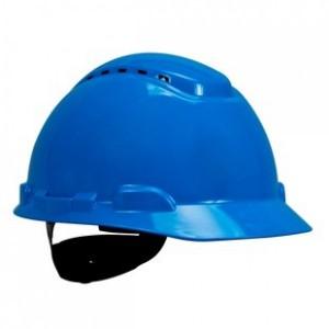 3M™ H-700N-BB Каска защитная синяя, с вентиляцией, с храповиком
