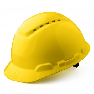 3M™ H-700N-GU Каска защитная желтая, с вентиляцией, с храповиком