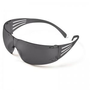 3M™ SecureFit™ SF200 SF202AF-EU Очки Открытые защитные, цвет линз дымчатый, с покрытием AS/AF против царапин и запотевания